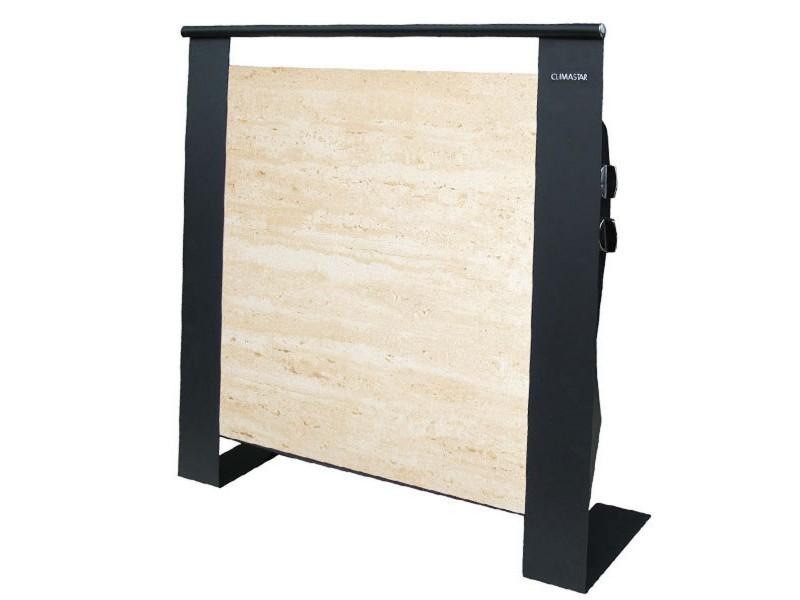 radiateur mobile inertie 1500w etna travertin val. Black Bedroom Furniture Sets. Home Design Ideas