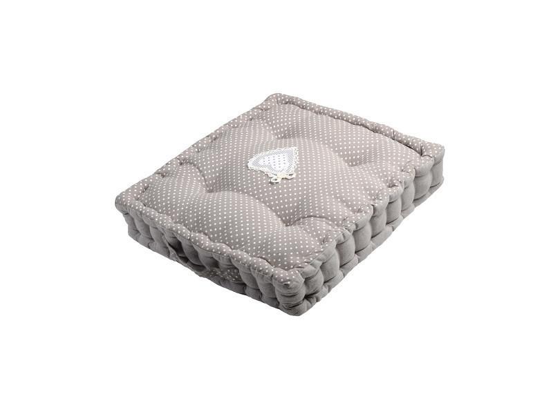 coussin de sol v rone 45x45x10cm vente de lovely casa conforama. Black Bedroom Furniture Sets. Home Design Ideas