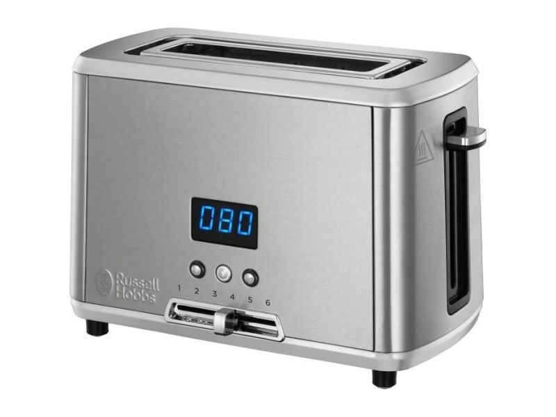 Russel hobbs 24200-56 - toaster compact home - inox brosse - 1550w RUS4008496984046