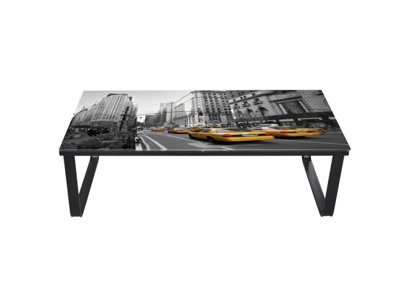 table basse de salon design verre new york 0902024 helloshop26 0902024 b conforama. Black Bedroom Furniture Sets. Home Design Ideas