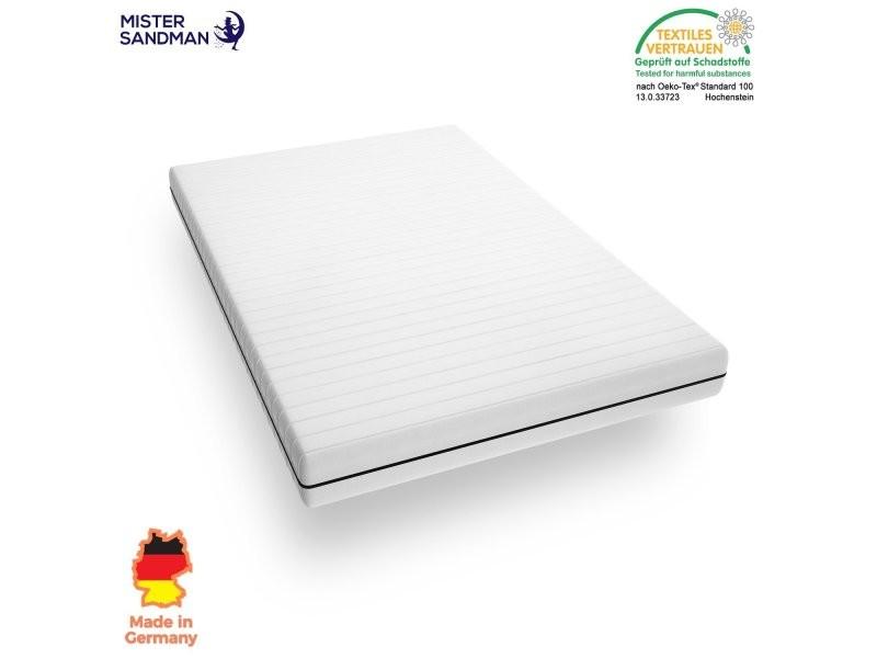 Matelas 90 x 190 cm matelas sommeil réparateur pas cher en mousse matelas 7 zones de confort, épaisseur 15 cm