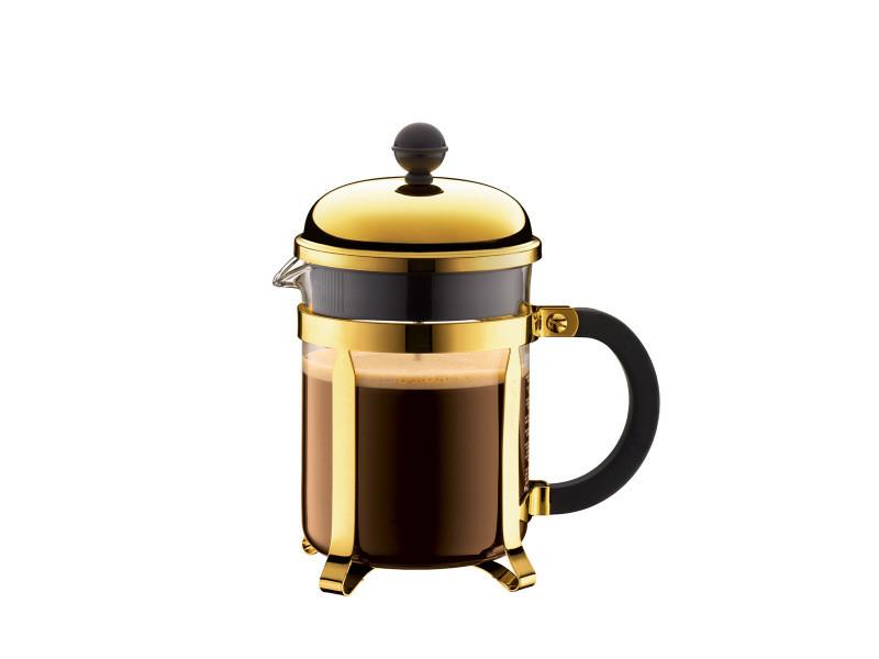 Bodum chambord® cafetière à piston, 4 tasses, 0.5 l, acier inox 1924-17