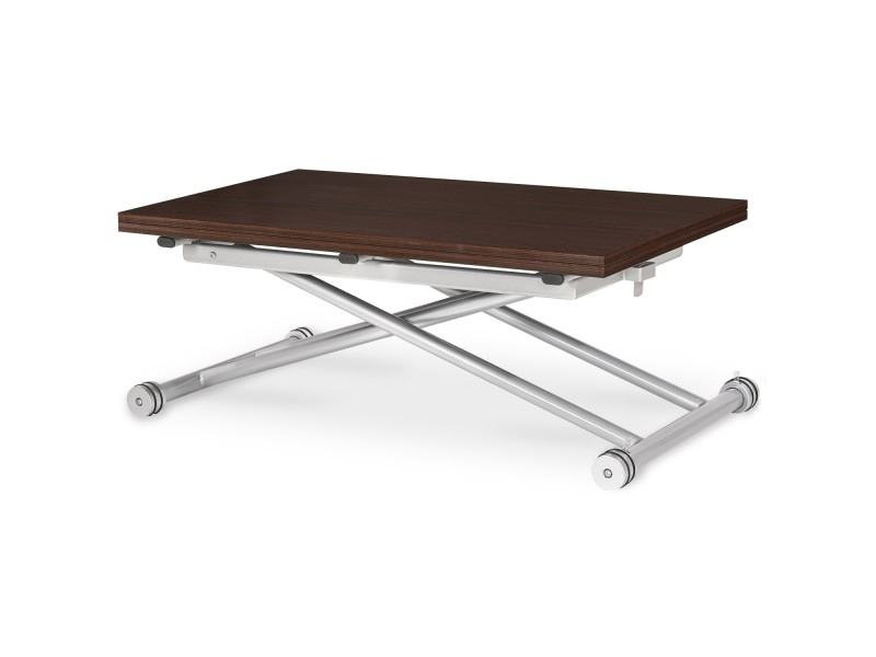 Table basse relevable philadelphia bois wenge