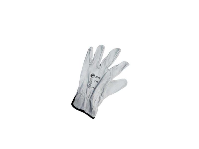 Gants pleine fleur blanc taille xl/10 ep 2240 106375