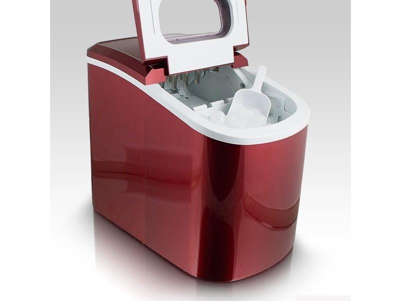 machine gla ons 12kg de gla ons en 24h ice maker rouge vente de monmobilierdesign conforama