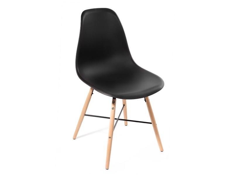 Lot 4 Chaises Design Art Voster Top Qualite Inspire Eiffel Noir