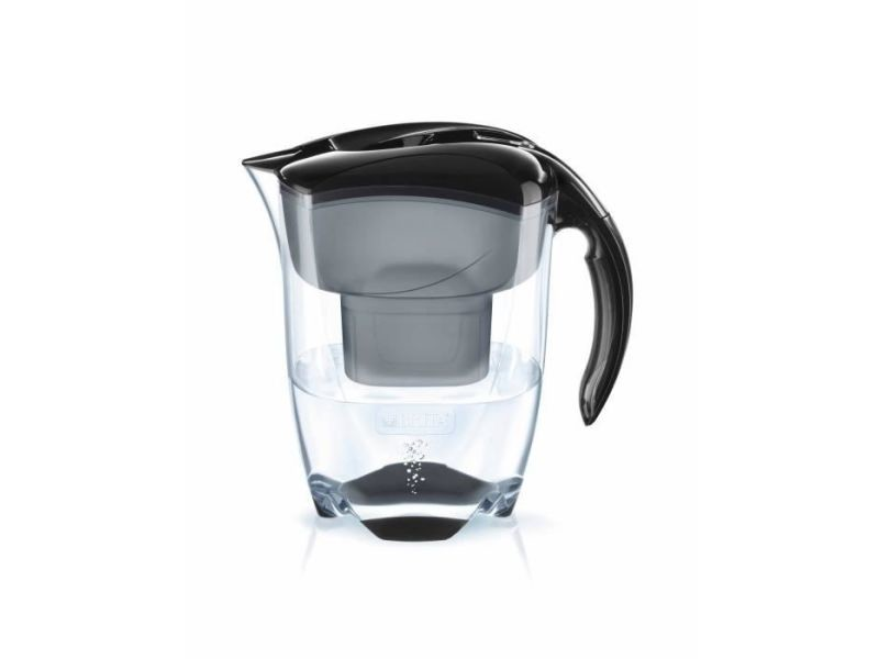 Carafe filtrante 3,5l noire avec cartouche maxtra+ - 1024031 BRI4006387076498