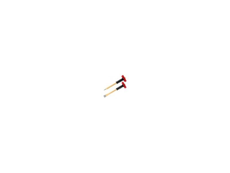 Broches et ciseaux de macon - dimensions:l.300 x l.18 mm DENU6550330