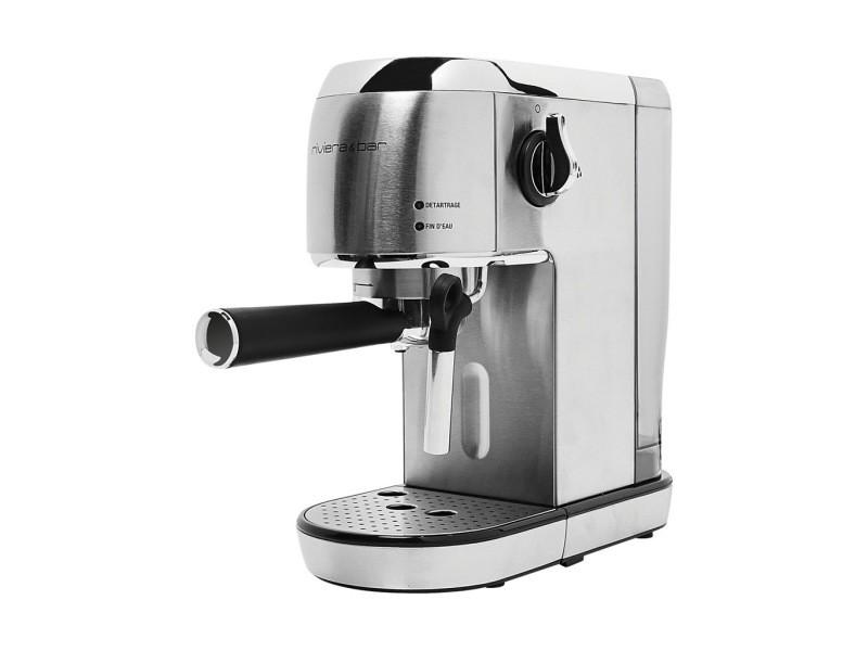 Riviera & bar machine à expresso automatique 1400w 2 tasses bce450