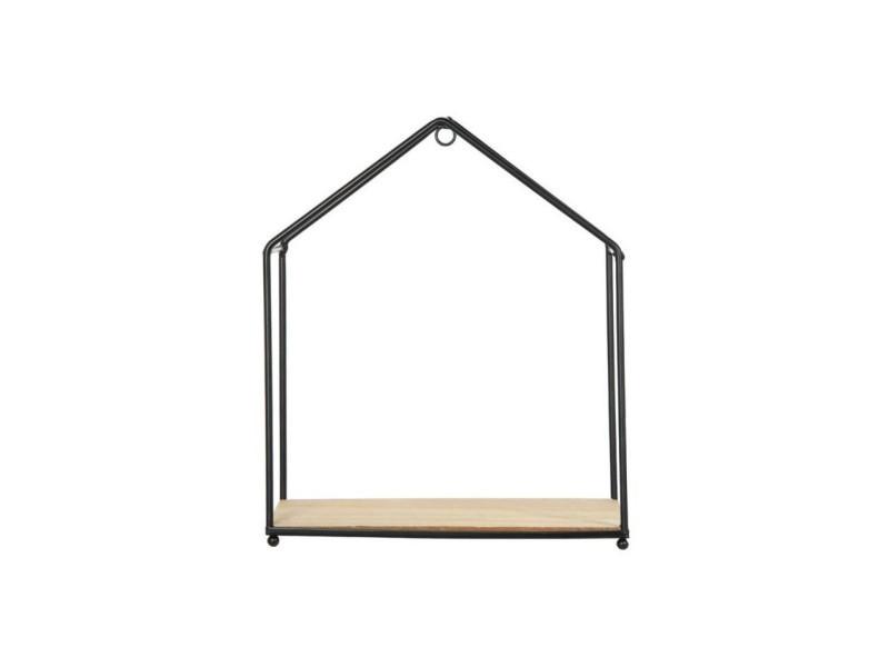 etag re filaire en forme de maison lot de 3 vente de. Black Bedroom Furniture Sets. Home Design Ideas