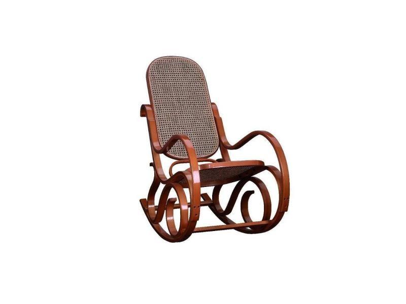 rocking chair cann franklin teint miel 20100841825 vente de table conforama. Black Bedroom Furniture Sets. Home Design Ideas