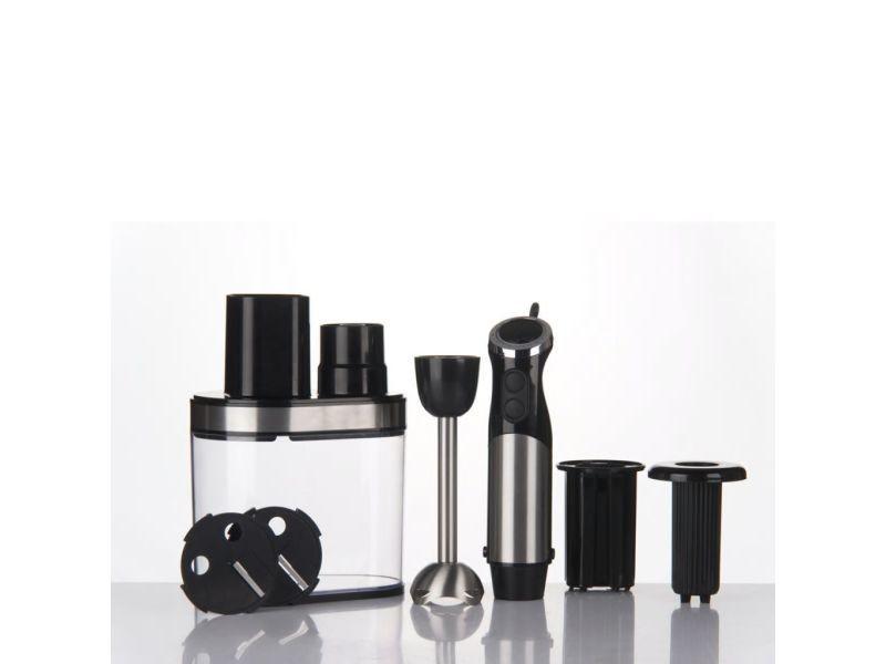 Trebs mixeur électrique 2-en-1 noir 99337