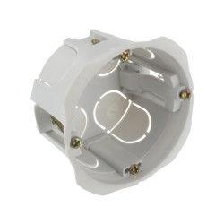 Blm - boîte encastrée bibox diamètre 65-67mm profondeur 40mm à vis
