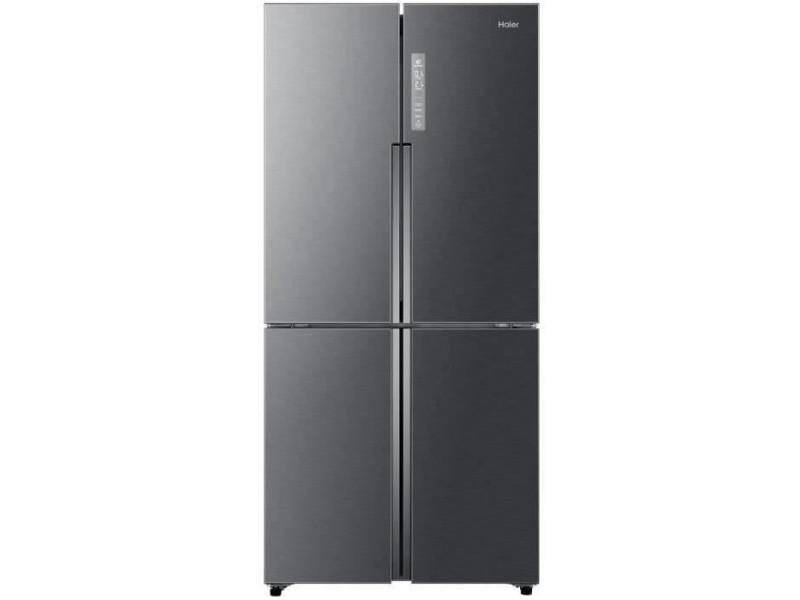 Htf-458dg6 - réfrigérateur multi-portes - 456l (316+140) - froid ventilé - a+ - l83.3 x h180.4 - inox HAI6901018061370