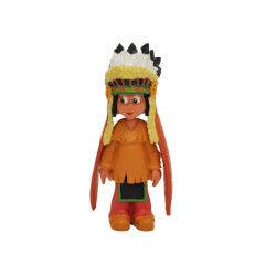 Yakari figurine yakari avec coiffe 6 cm