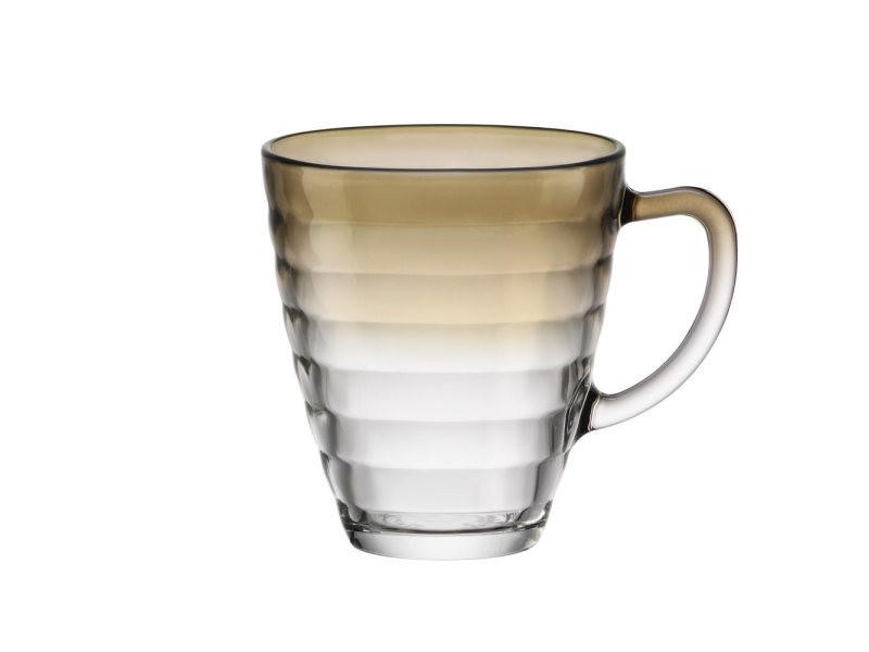 Mug circles fumé 31 cl. (lot de 6)