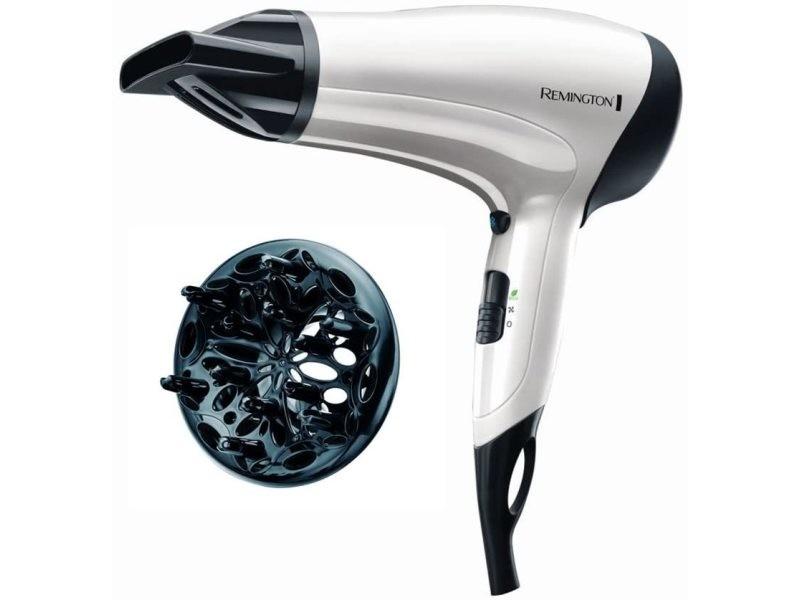 Sèche cheveux professionnel céramique ionique 2000w gris noir