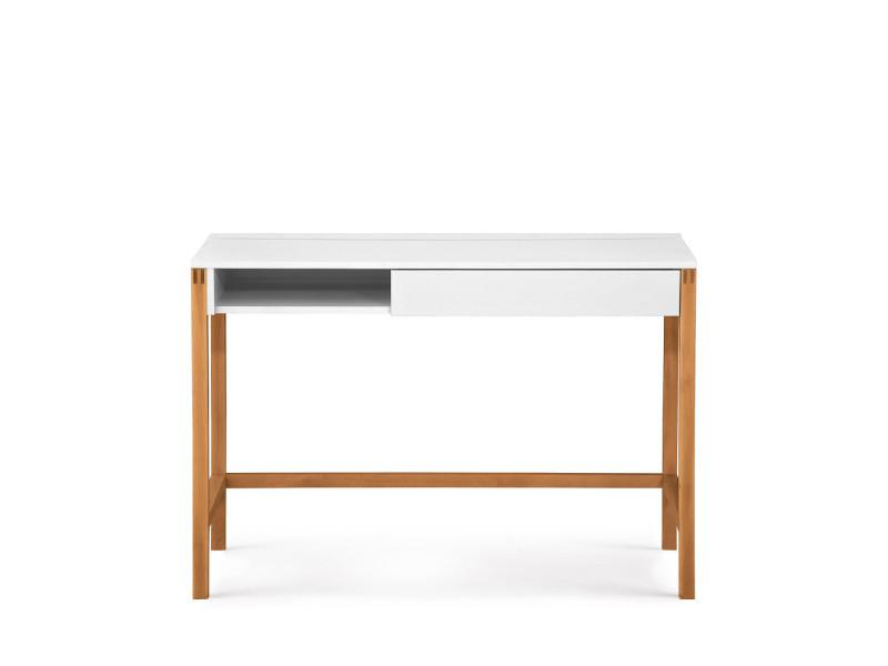 Northgate bureau bois et laque tiroir et niche couleur