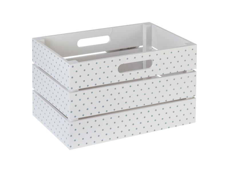 cagette de rangement blanc vente de panier linge et. Black Bedroom Furniture Sets. Home Design Ideas