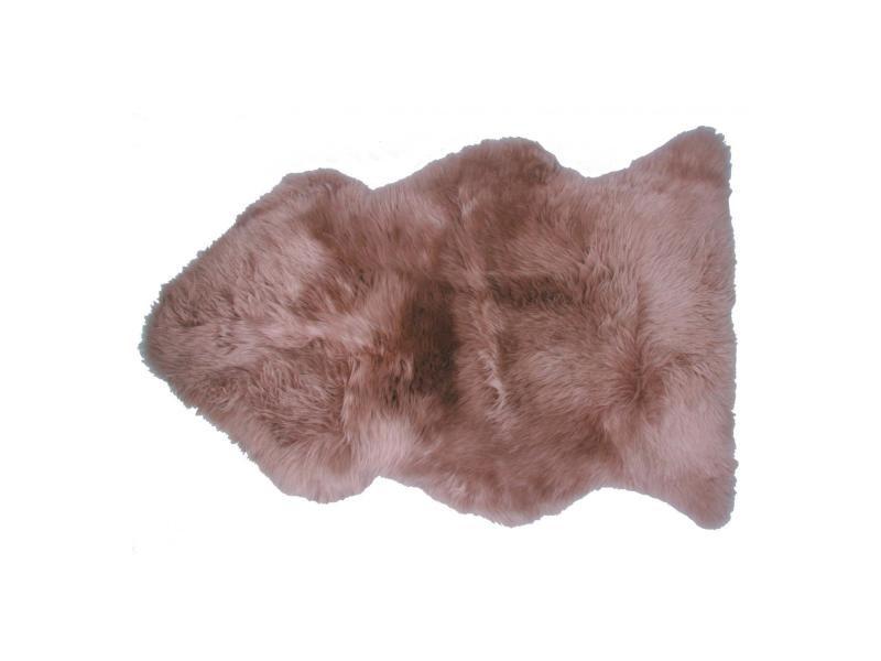 Peau de mouton sibérie lin 67 x 100 x 4 cm vivaraise 1040999011