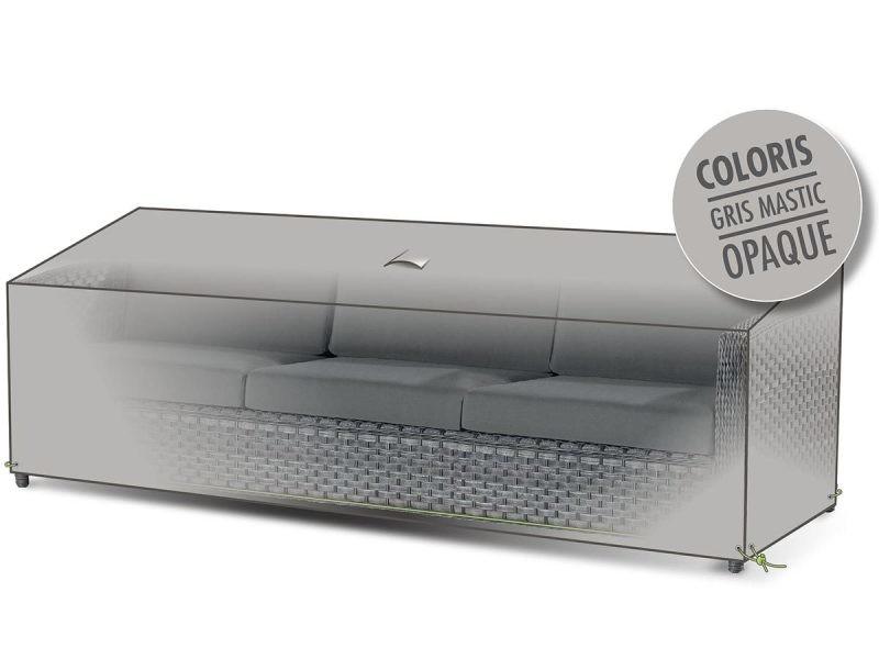 housse de protection pour canap de jardin 3 places. Black Bedroom Furniture Sets. Home Design Ideas