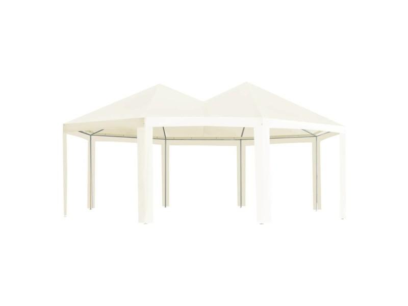 Inedit structures extérieures ensemble banjul chapiteau d'extérieur crème 600 x 440 x 330 cm