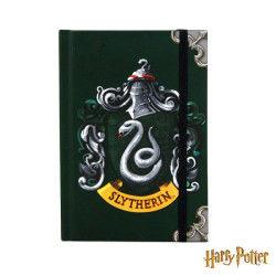 Petit carnet de notes harry potter format a6 - petit carnet de notes serpentard - petit carnet de notes serpentard