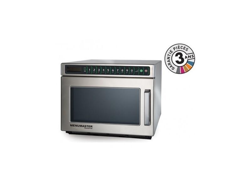Four micro-onde professionnel - 17 l - 1800 w - dec18e2 - menumaster - 1700 cl