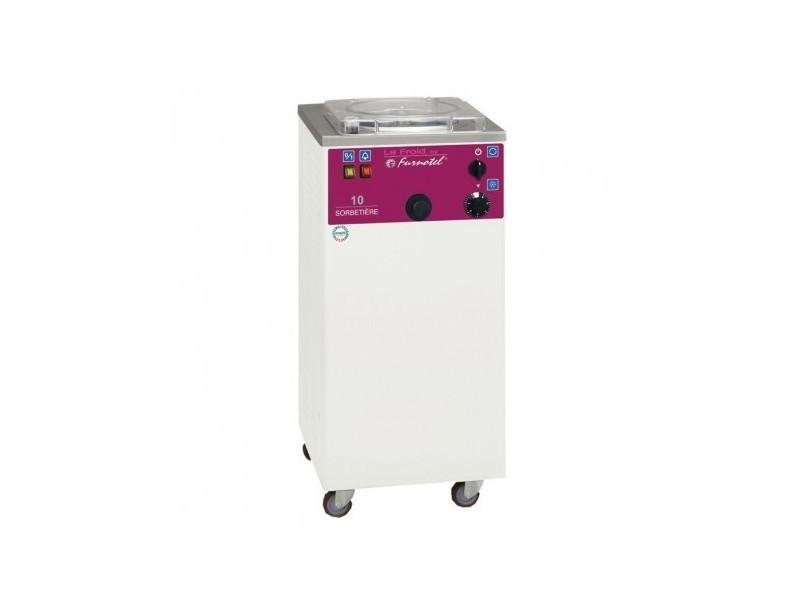 Sorbetière à extraction manuelle - 10 litres / heure - série gel - furnotel -