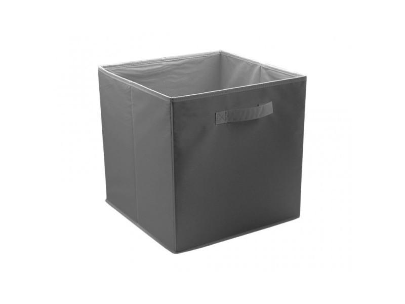 Boite / cube de rangement pour dressing - space - couleur: gris