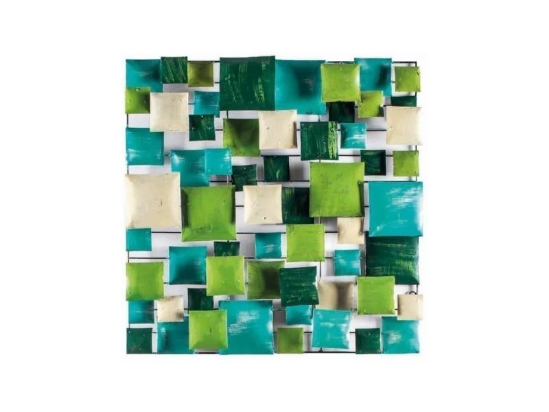 Décoration murale vert/turquoise 100 cm - green board /xl