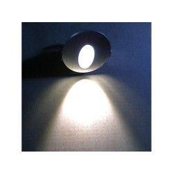 Lampe de mur de style contemporain en aluminium anodisé