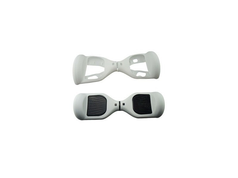 Coque silicone pour hoverboard 6.5 pouces blanc