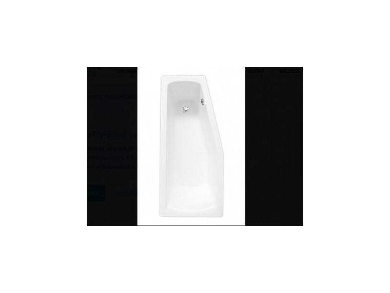 baignoire asym trique matik 160 x 70cm vente de azura. Black Bedroom Furniture Sets. Home Design Ideas