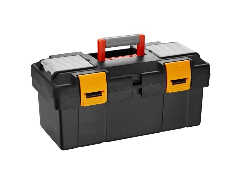 Tectake caisse à outils dwayne - m / 42 x 21,5 x 19,5 cm 403601