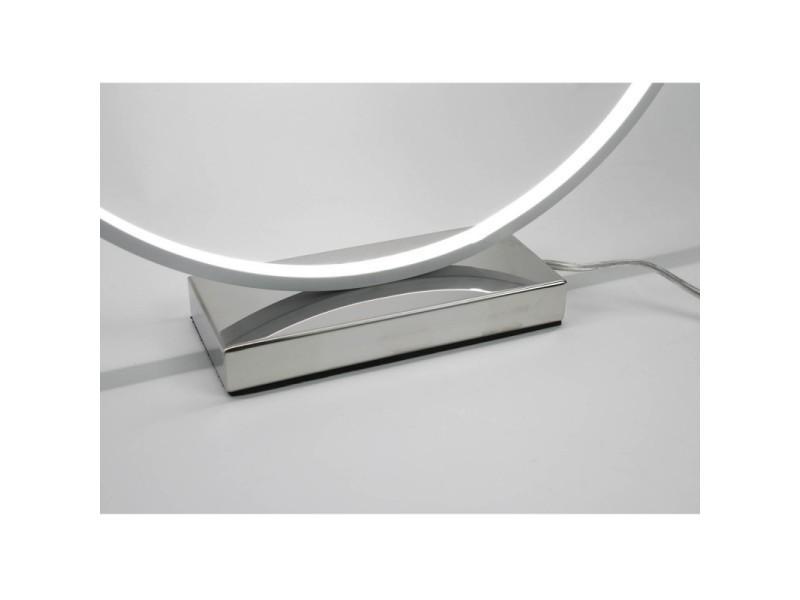Eclairage Design Circle Blanc Et Dynamique Originale Lampe Led TPXuOZki