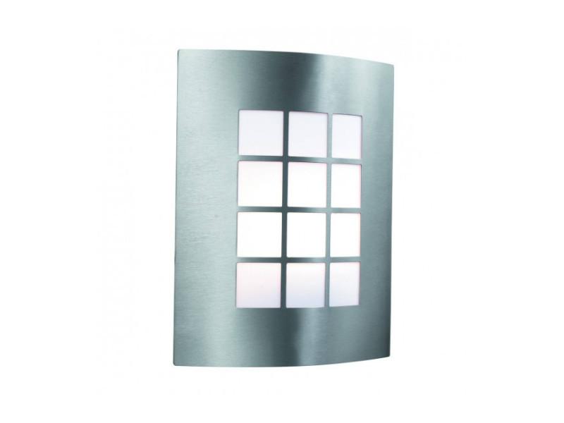 Applique 27 cm outdoor lights, en acier inoxydable et polycarbonate