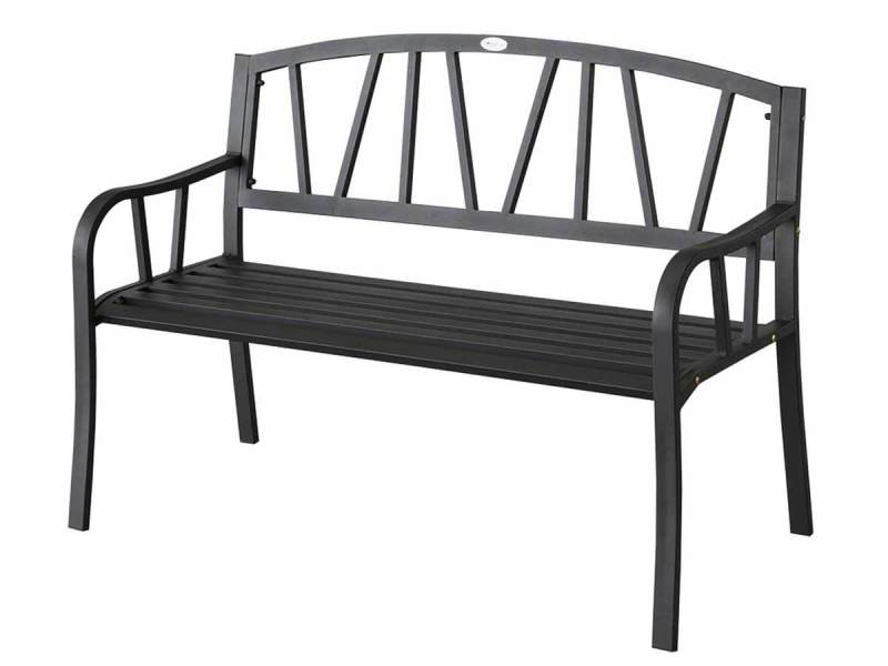 banc de jardin en m tal alvernia hesp ride vente de hesperide conforama. Black Bedroom Furniture Sets. Home Design Ideas