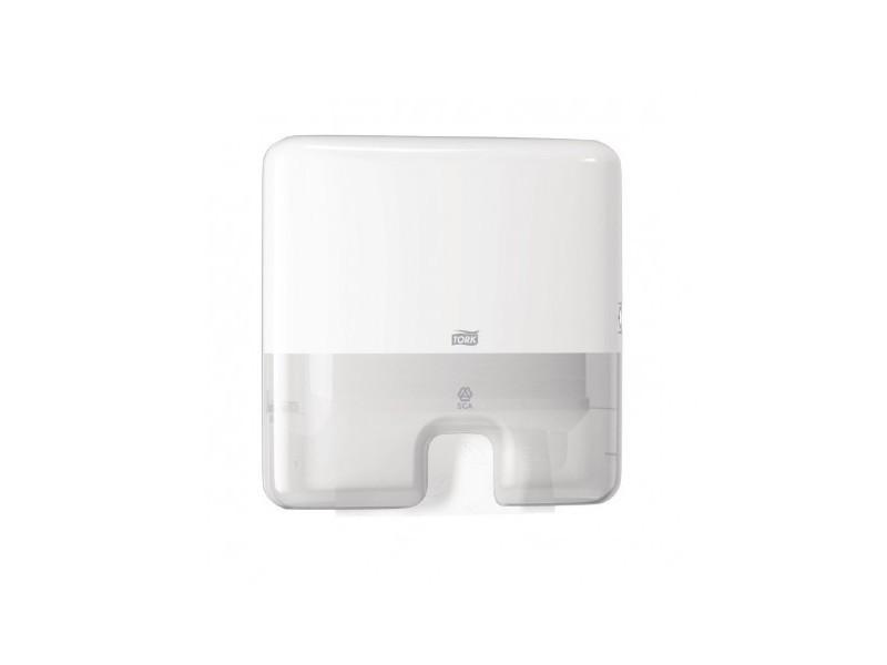 Distributeur mini pour essuie-mains interfoliés tork blanc -