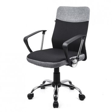 Davik chaise de bureau ergonomique confort support du for Chaise de bureau conforama