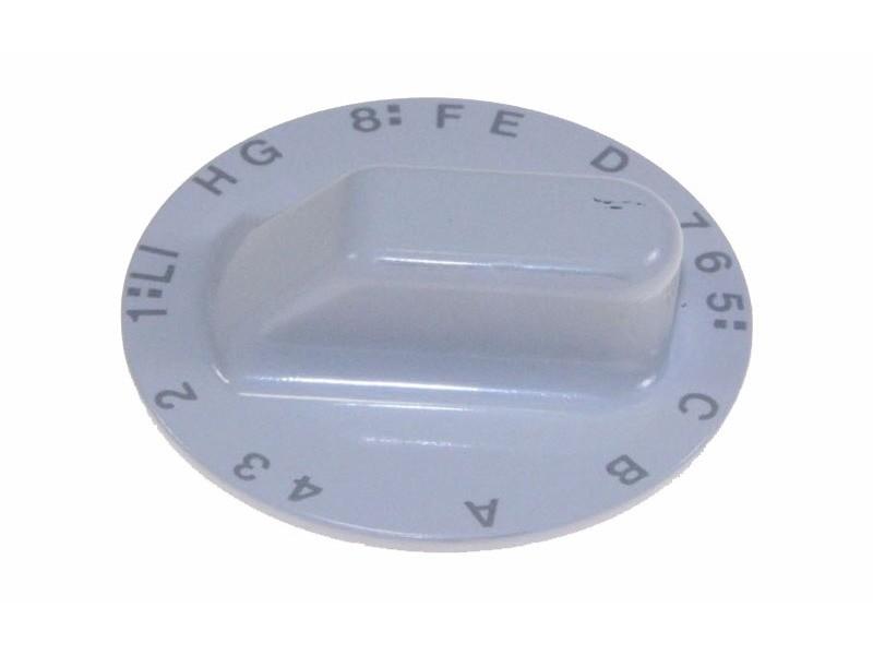 Bouton de programmateur blanc pour lave linge scholtes - c00036392