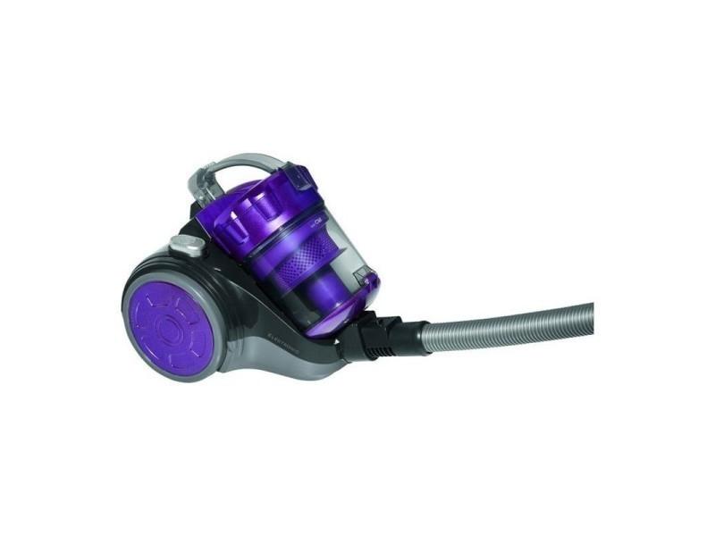 Aspirateur sans sac 700w eco-cyclon bs 1302 clatronic (violet)