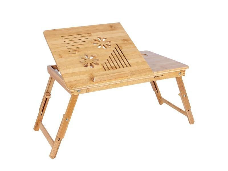 superbe table de lit pliable en bambou pour ordinateur. Black Bedroom Furniture Sets. Home Design Ideas
