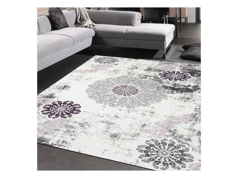 Tapis grand dimensions lambor violet 200 x 290 cm tapis de ...
