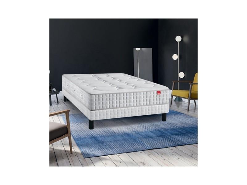 Ensemble epeda cambrure ressorts multi-actif confort medium 160x200