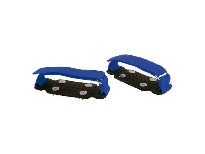 Crampons antidérapants glace et neige - crampons chaussures anti dérapants couleur - bleu