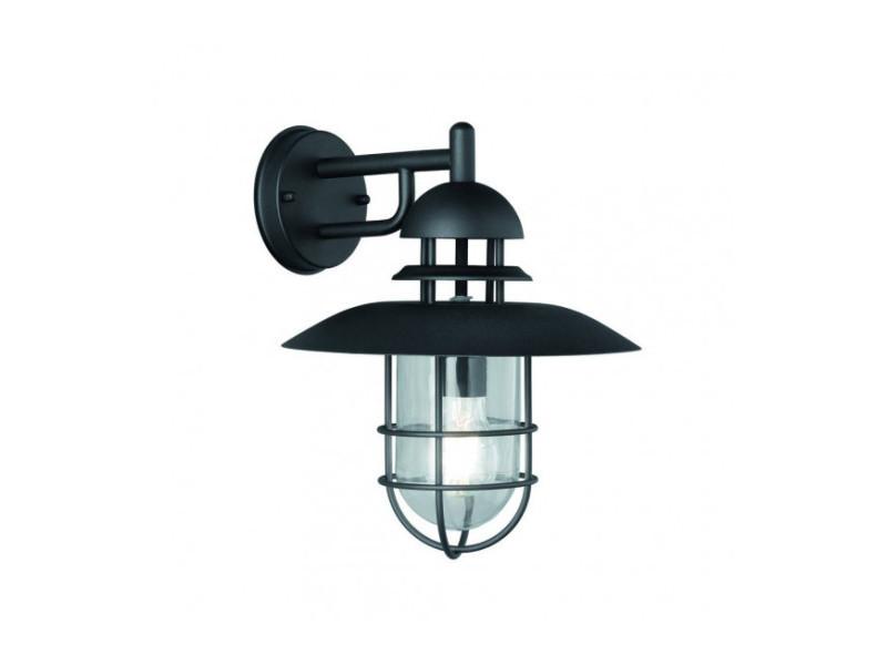 Noire Murale Luminaire 1 Ampoule Vente De Applique Exto Jardin R35jAq4L