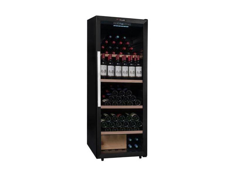 Cave à vin multi-usages - 1 ou multi - 200 bouteilles - noir - climadiff -  aci-cli322 - pose libre - Vente de Cave à vin - Conforama eab322dc9d88