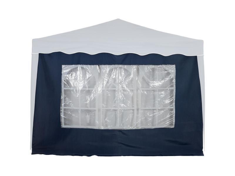Instent® panneau latéral > avec 3 fenêtres, sans fermeture à glissière, coloris au choix - couleur : bleu