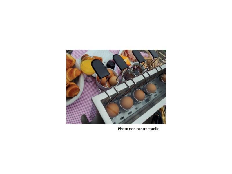 Panier cuiseur à oeufs en inox - 1 œuf - sofraca -